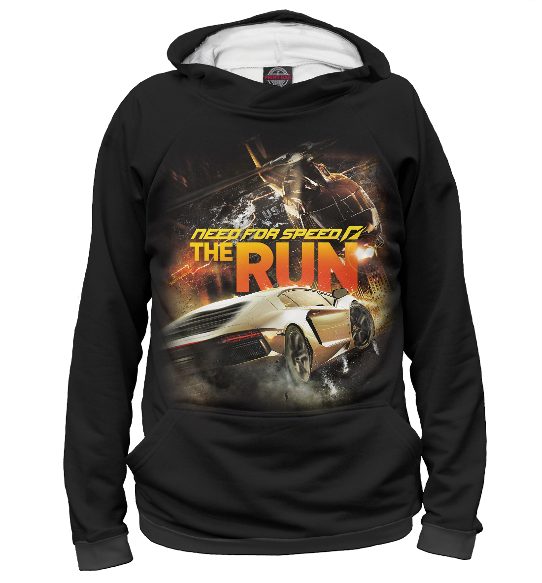 Купить Need for Speed, Printbar, Худи, NFS-662546-hud-2