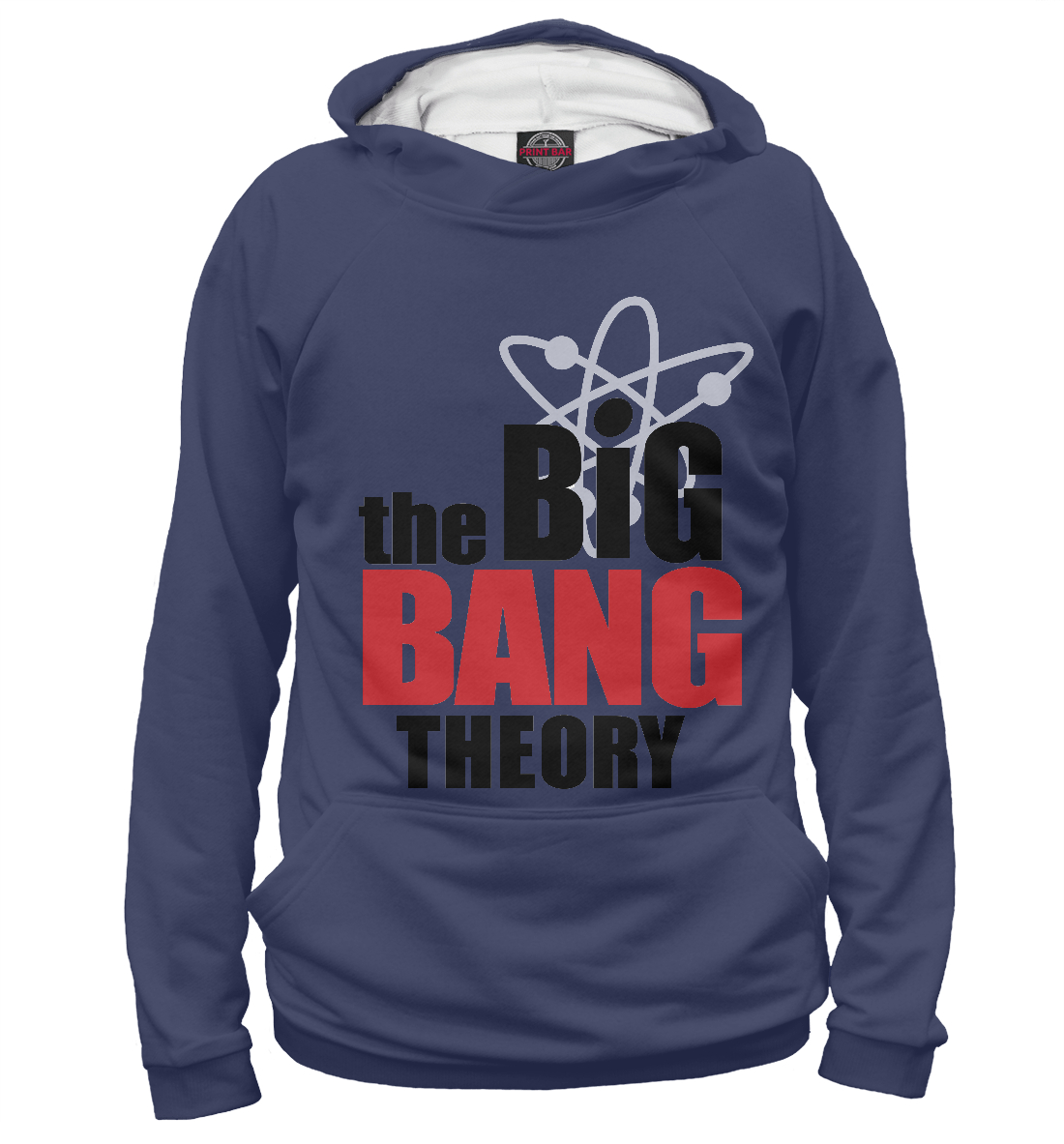 Купить The Big Bang Theory, Printbar, Худи, TEO-696949-hud-2