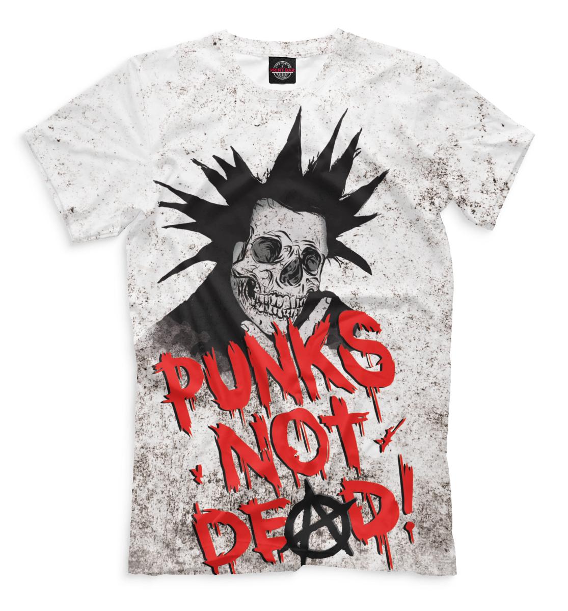 Купить Punks not Dead!, Printbar, Футболки, MZK-529454-fut-2