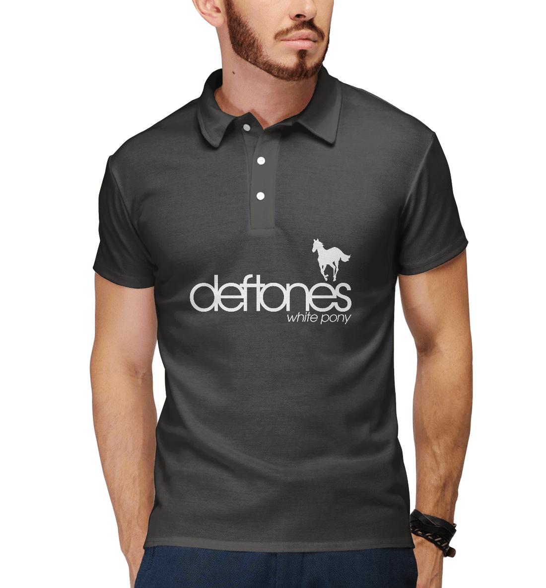 Купить Deftones, Printbar, Поло, DFT-784702-pol-2