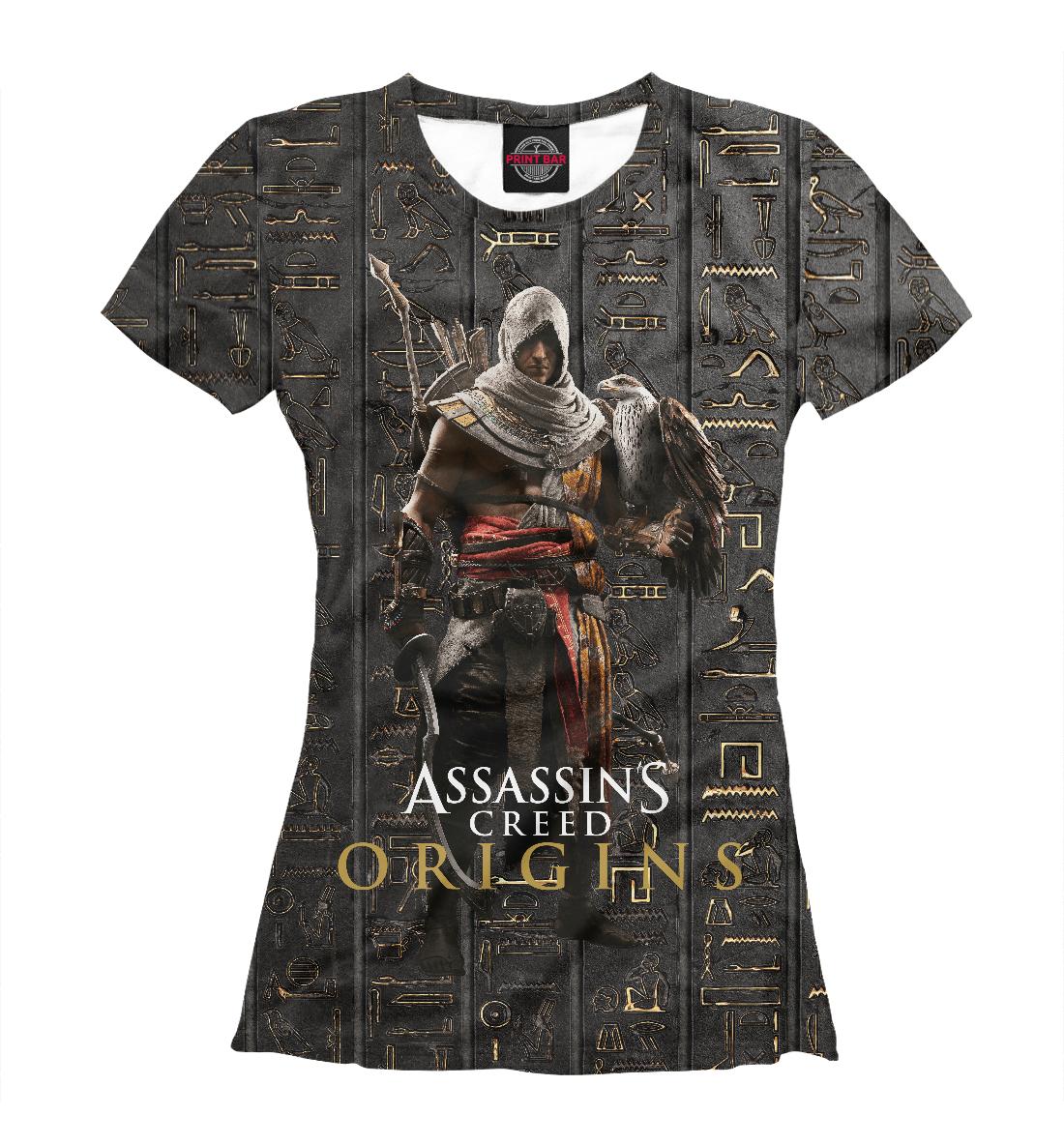 Купить Assassin's Creed Origins, Printbar, Футболки, ANC-943257-fut-1