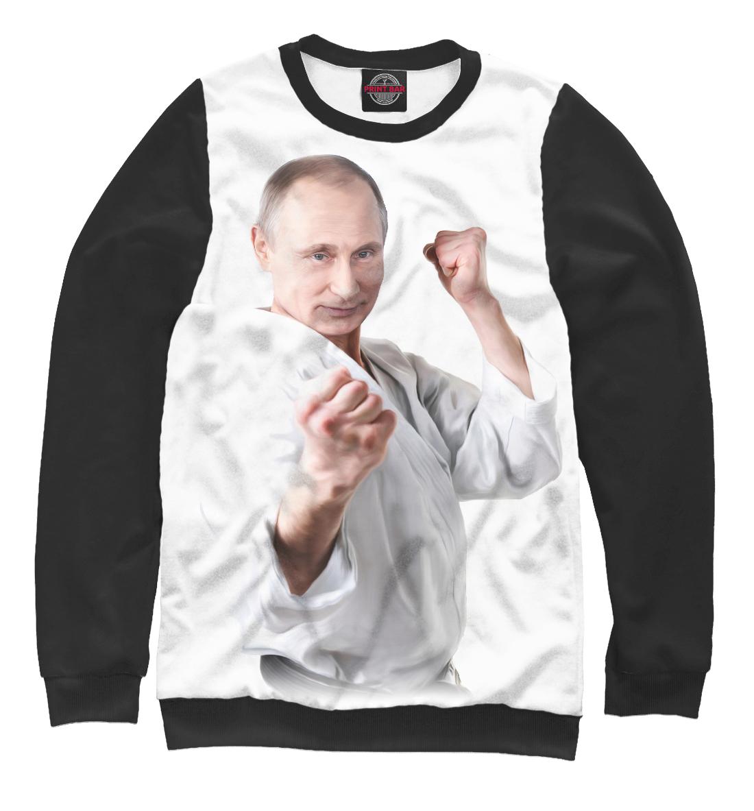Купить Путин в кимоно, Printbar, Свитшоты, PUT-175770-swi-1