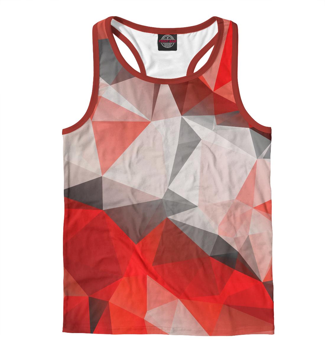 Купить Red abstract, Printbar, Майки борцовки, ABS-859200-mayb-2