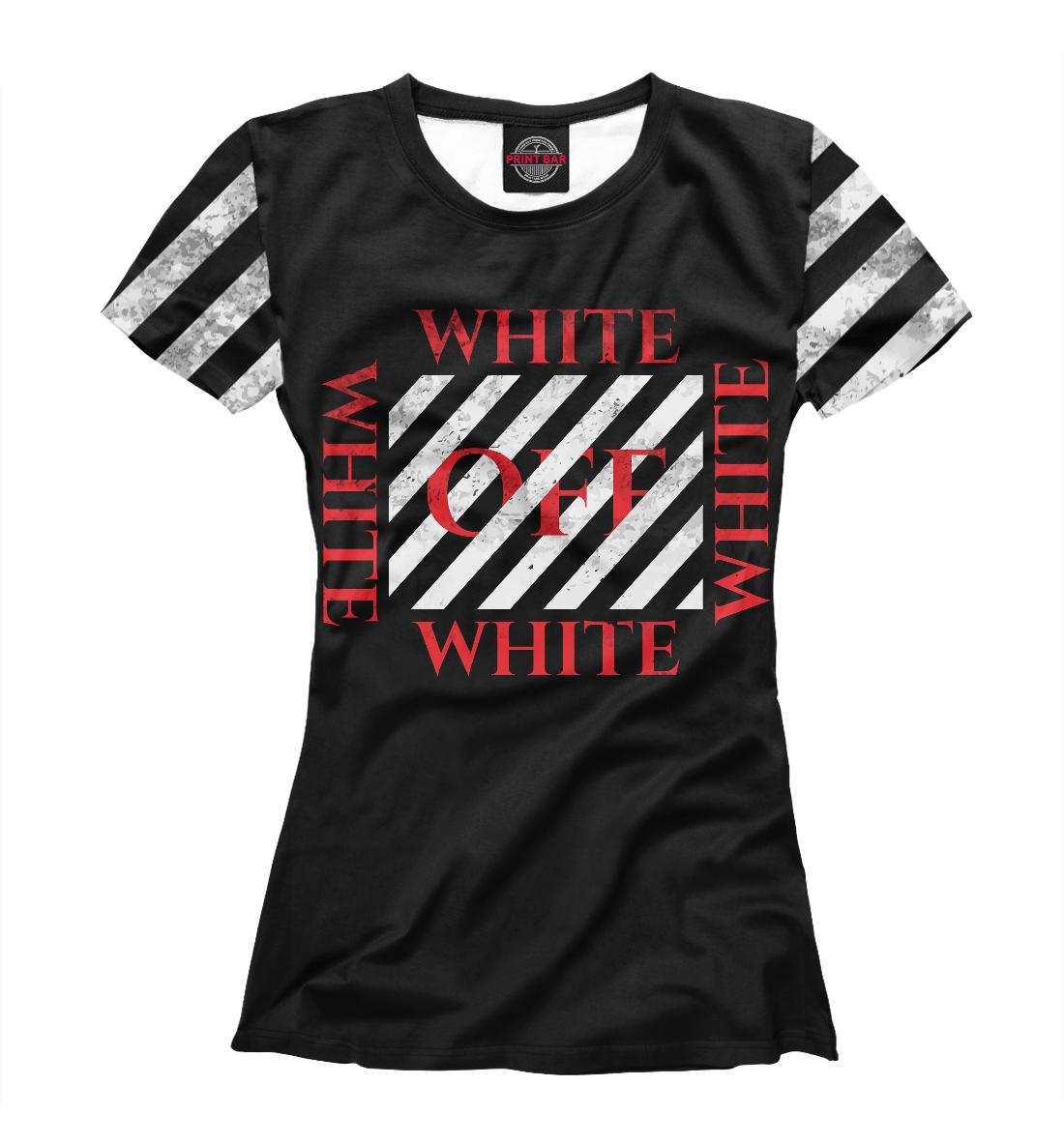 Купить Off-White GG Style, Printbar, Футболки, APD-461144-fut-1