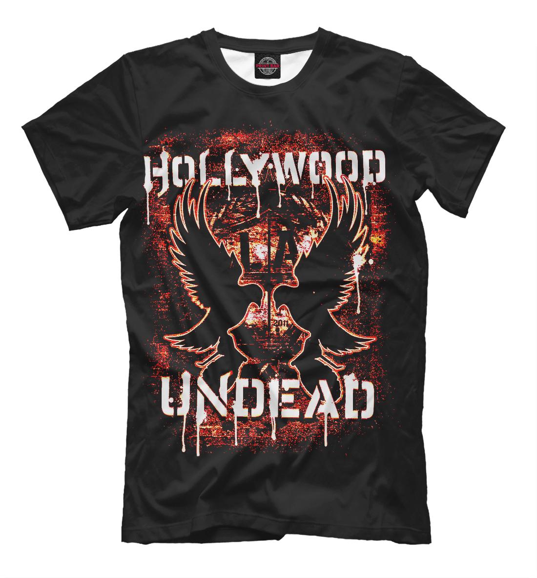 Купить Hollywood Undead, Printbar, Футболки, HLW-728722-fut-2