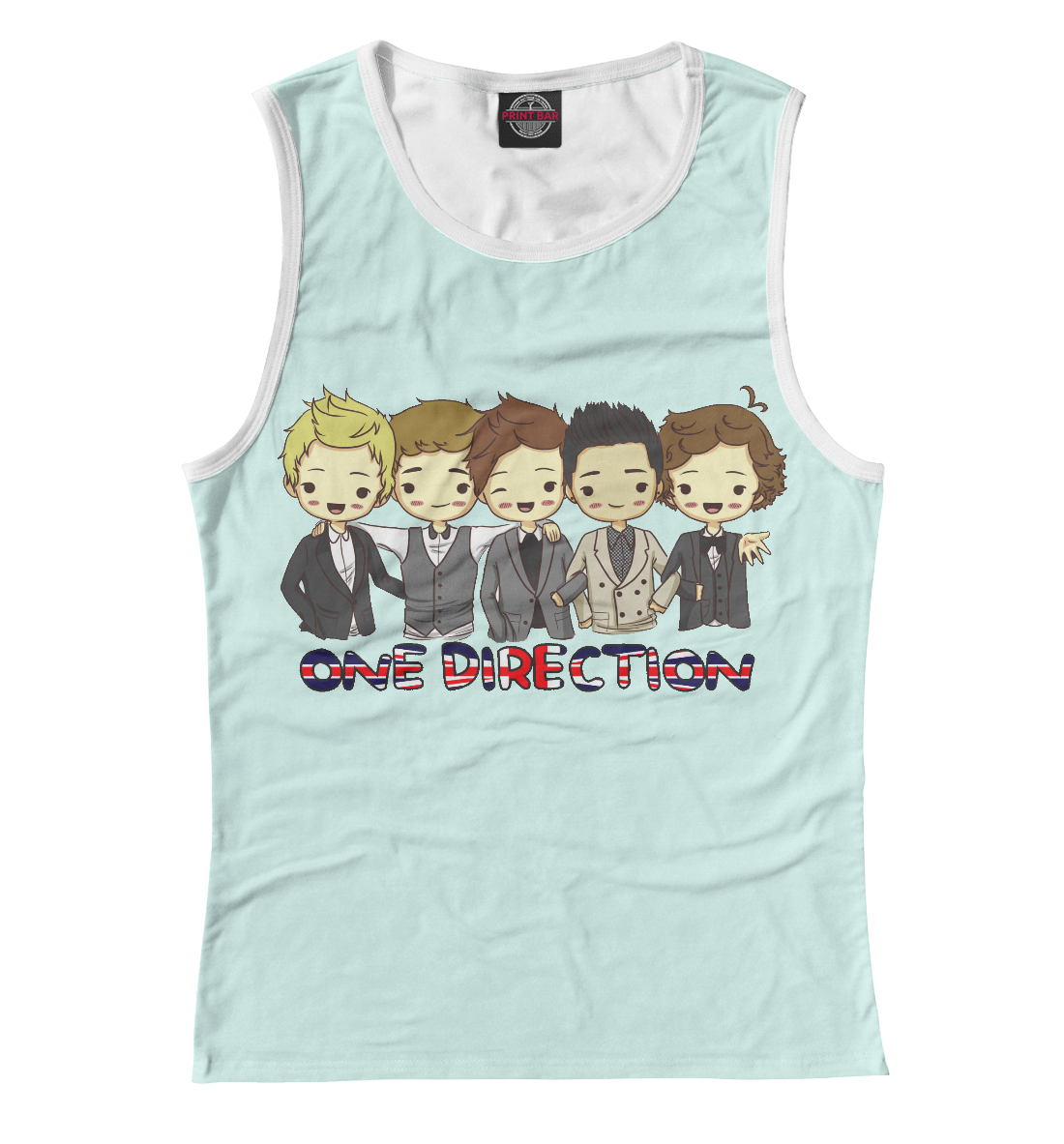Купить One Direction, Printbar, Майки, OND-456603-may-1