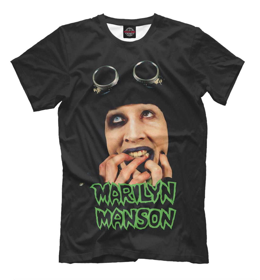 Купить Marilyn Manson, Printbar, Футболки, MRM-231556-fut-2