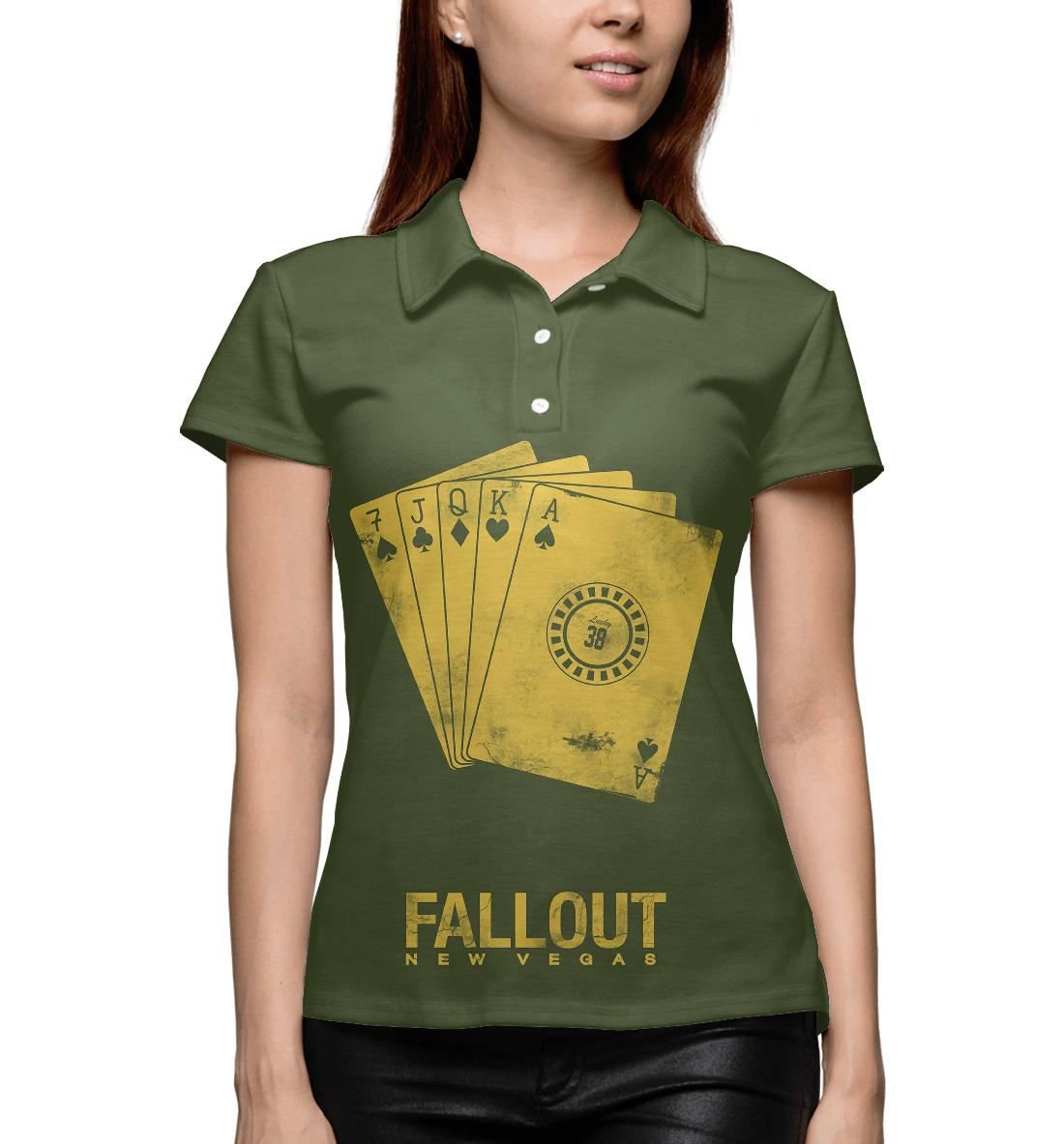 Купить Fallout New Vegas, Printbar, Поло, FOT-162114-pol-1