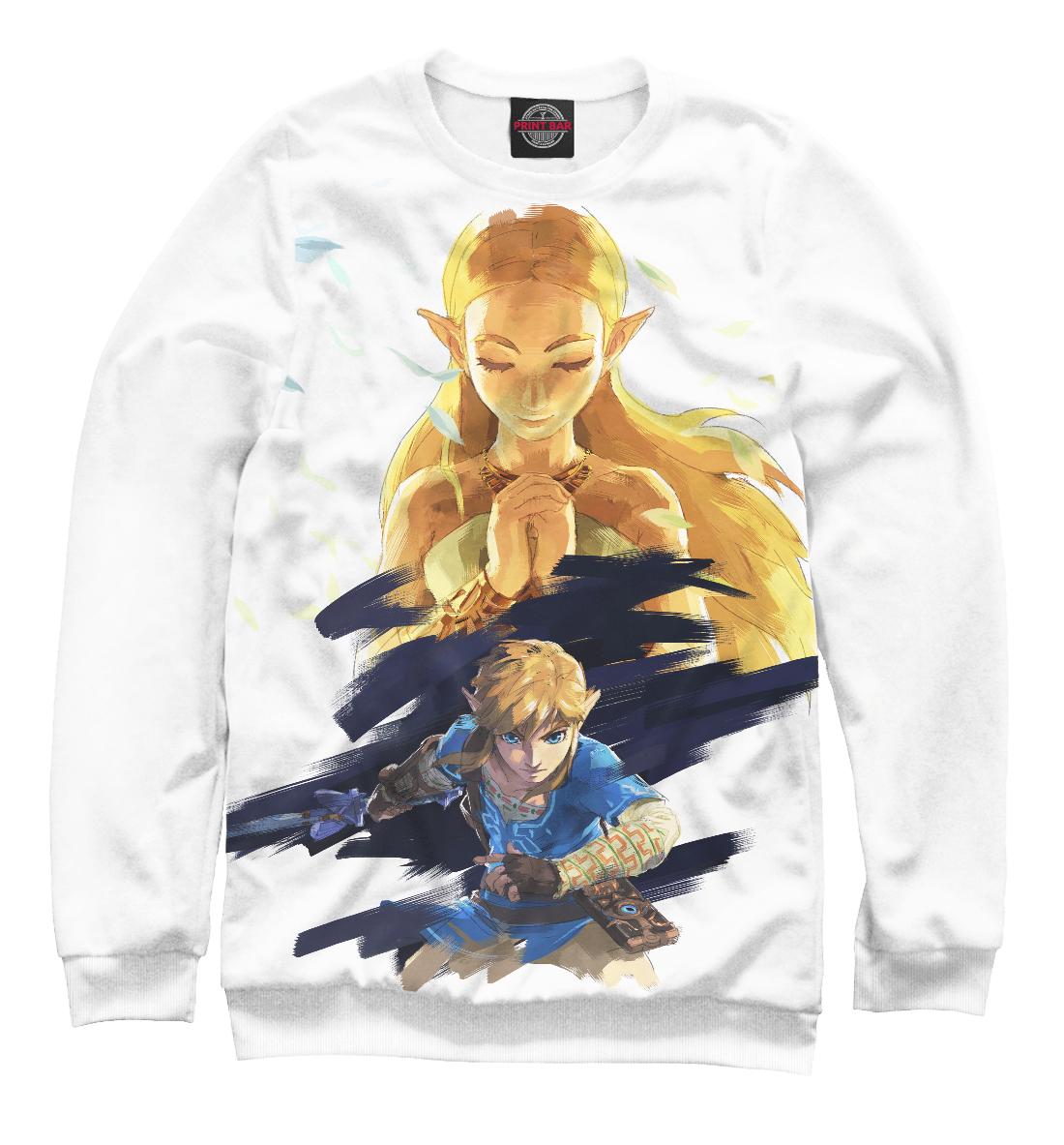 Купить The Legend Of Zelda, Printbar, Свитшоты, RPG-941204-swi-1