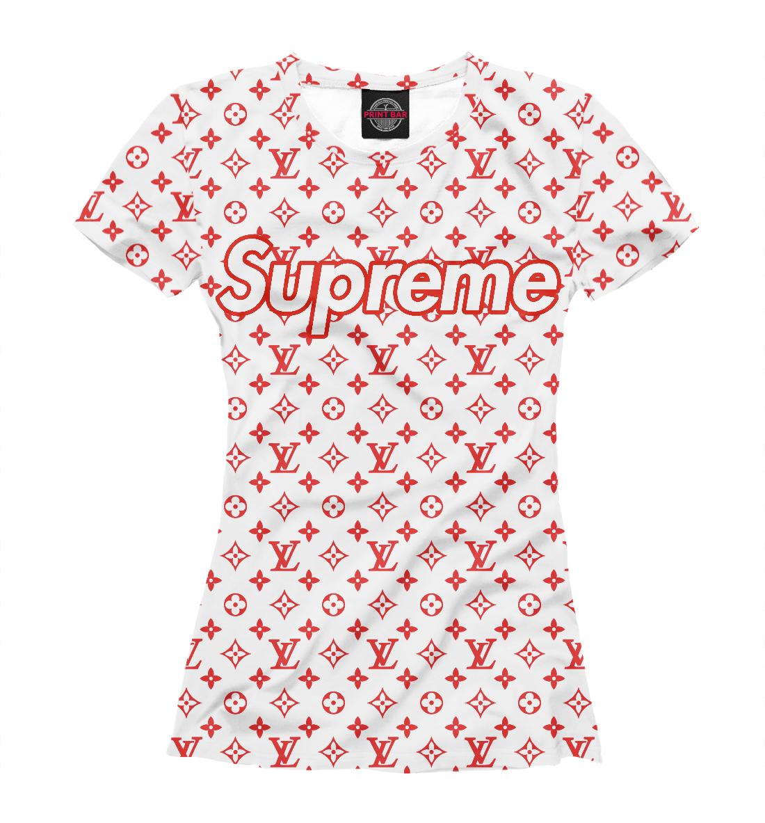 Купить Supreme Louis Vuitton, Printbar, Футболки, SPR-914390-fut-1