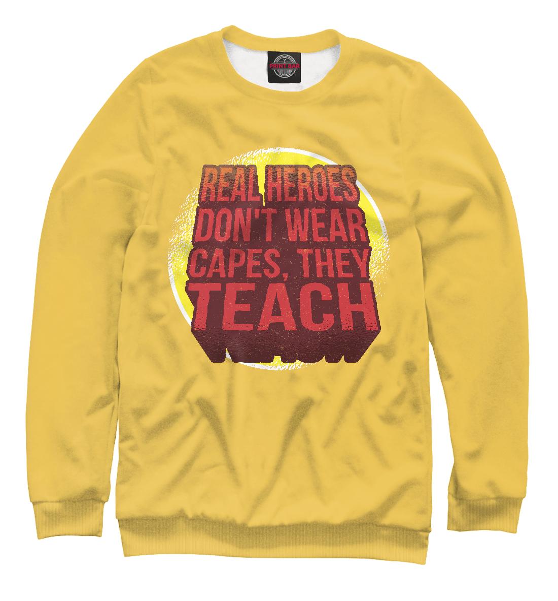Купить Учитель Супер Герой, Printbar, Свитшоты, PRP-235317-swi-2