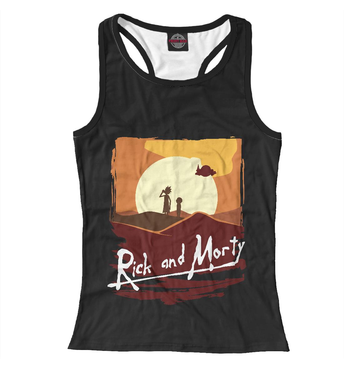 Купить Rick and Morty, Printbar, Майки борцовки, RNM-969711-mayb-1