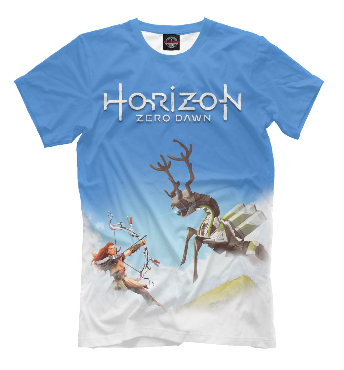 футболка horizon zero dawn vast lands белая xl Horizon Zero Dawn