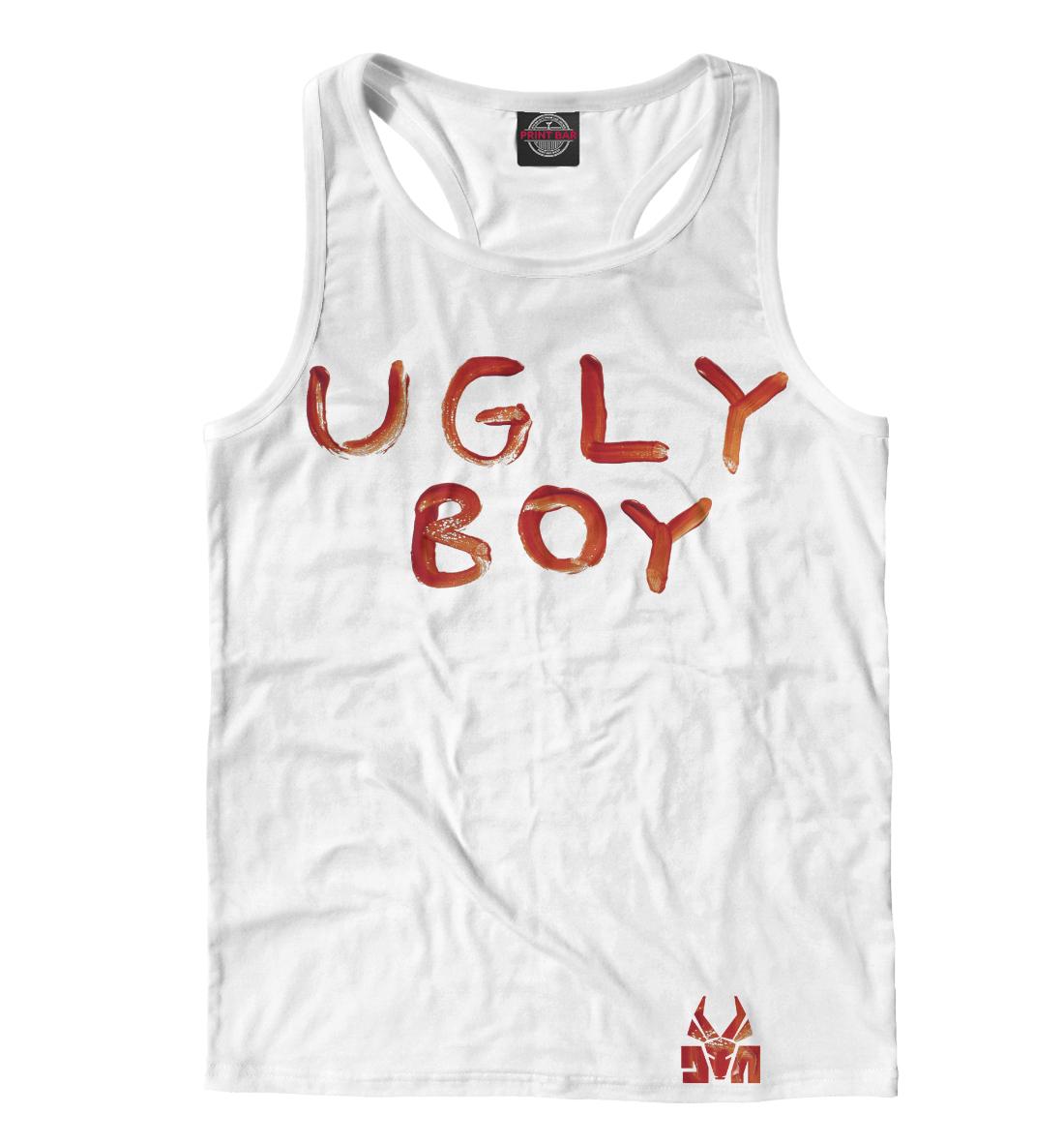 Ugly Boy майка print bar ugly boy