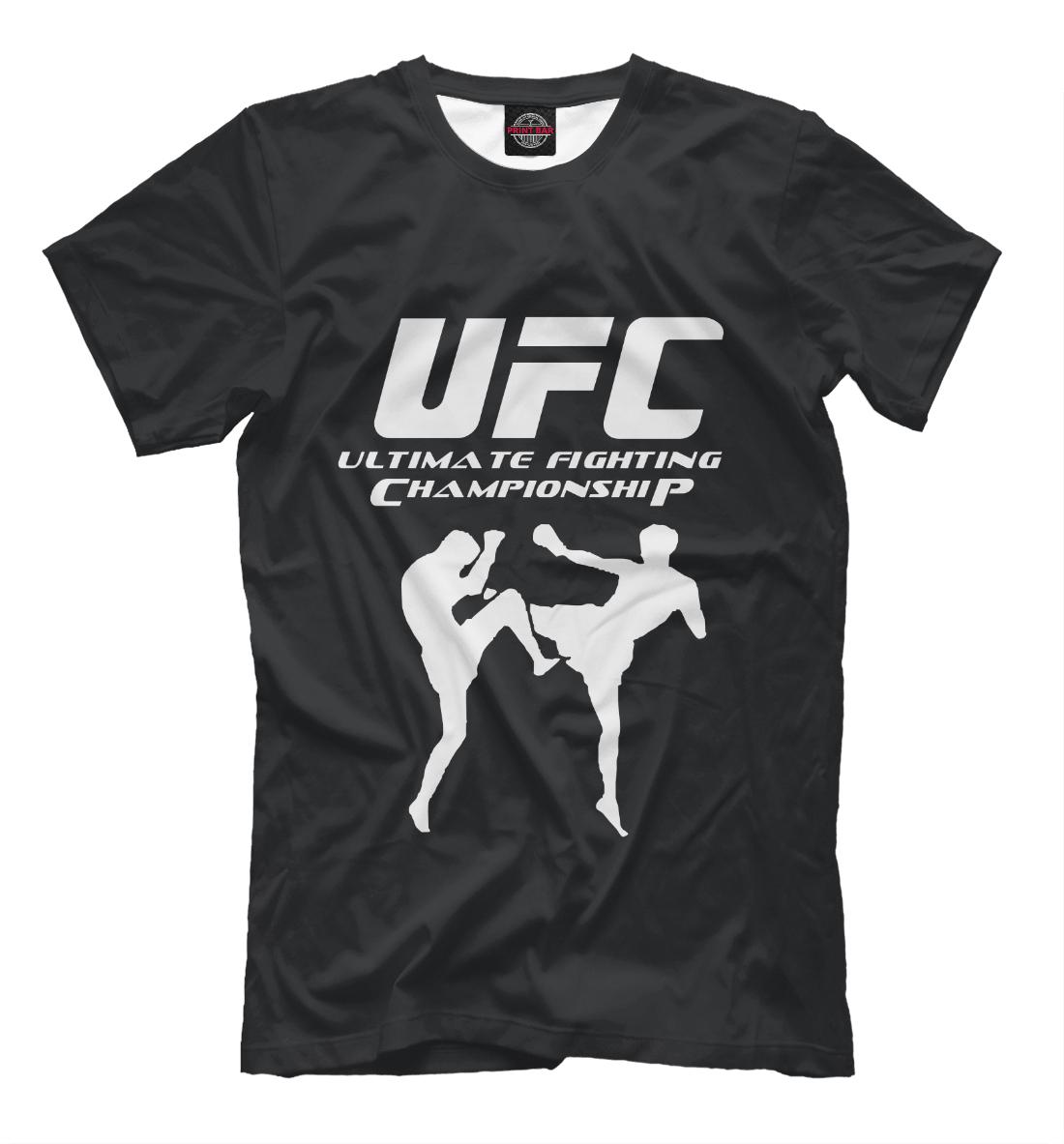 Купить Ultimate Fighting Championship, Printbar, Футболки, MNU-471332-fut-2