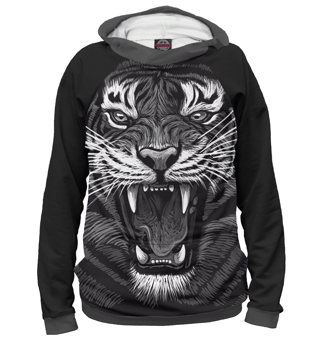 Купить Tiger Rage, Printbar, Худи, HIS-343794-hud-2