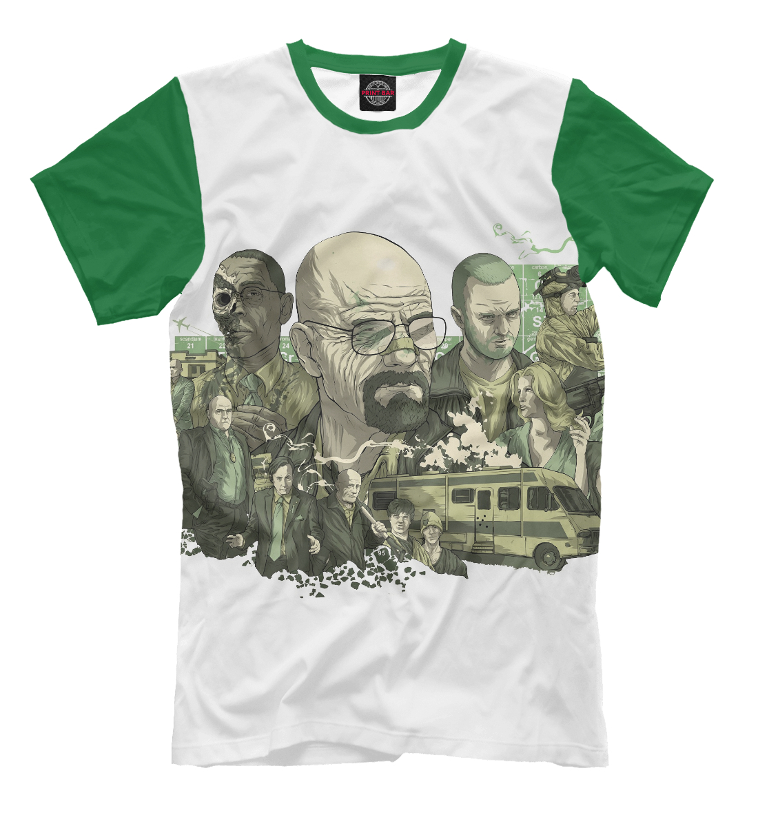 Купить Breaking bad, Printbar, Футболки, VVT-413733-fut-2