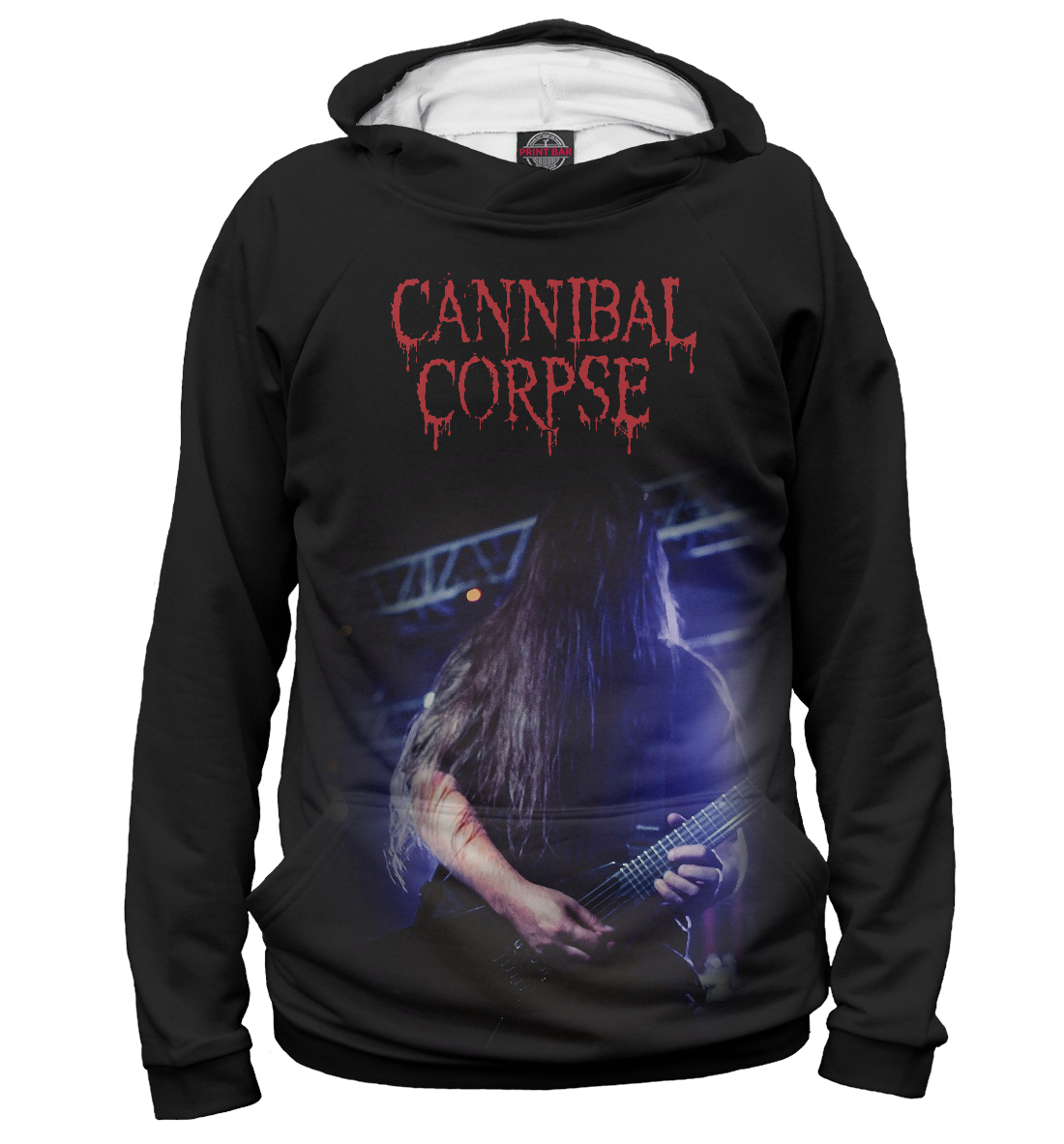 Купить Pat O'Brien (Cannibal Corpse), Printbar, Худи, MZK-364822-hud-2