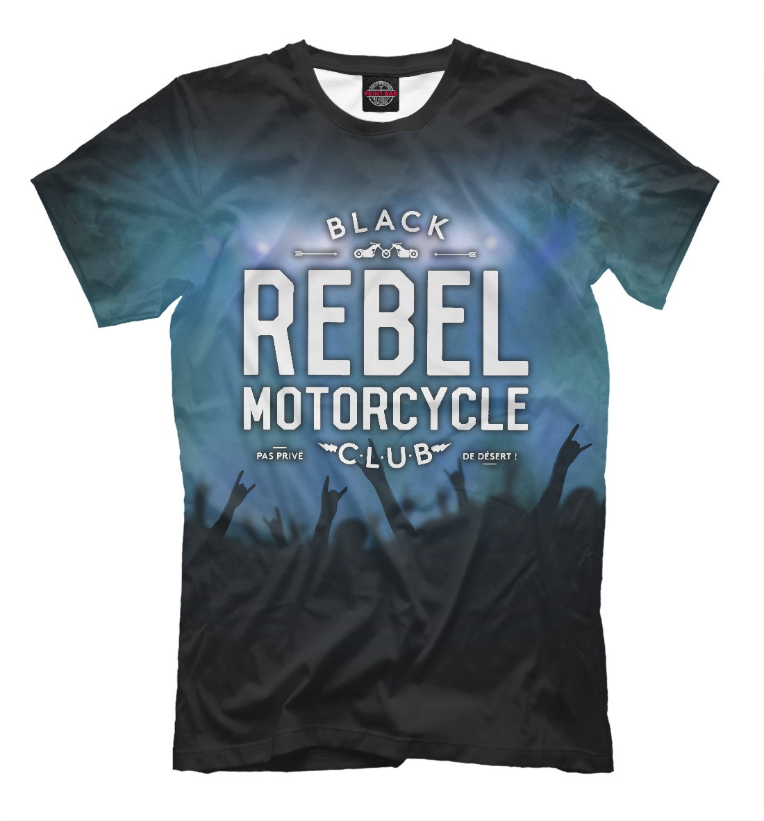 Купить Black Rebel Motorcycle Club, Printbar, Футболки, BRM-845572-fut-2