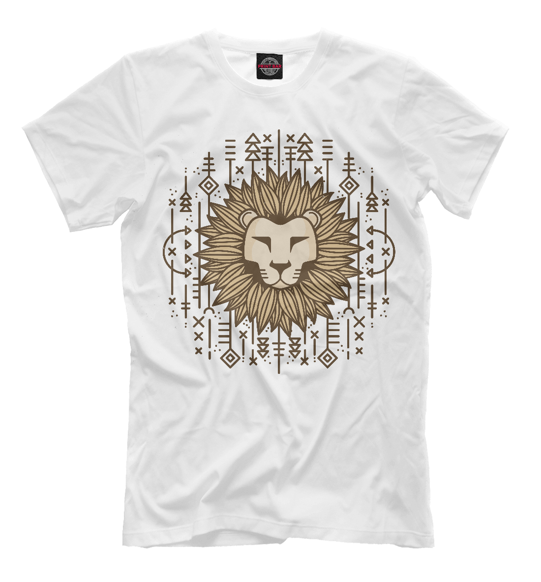 Купить Lion illustration, Printbar, Футболки, HIS-660949-fut-2
