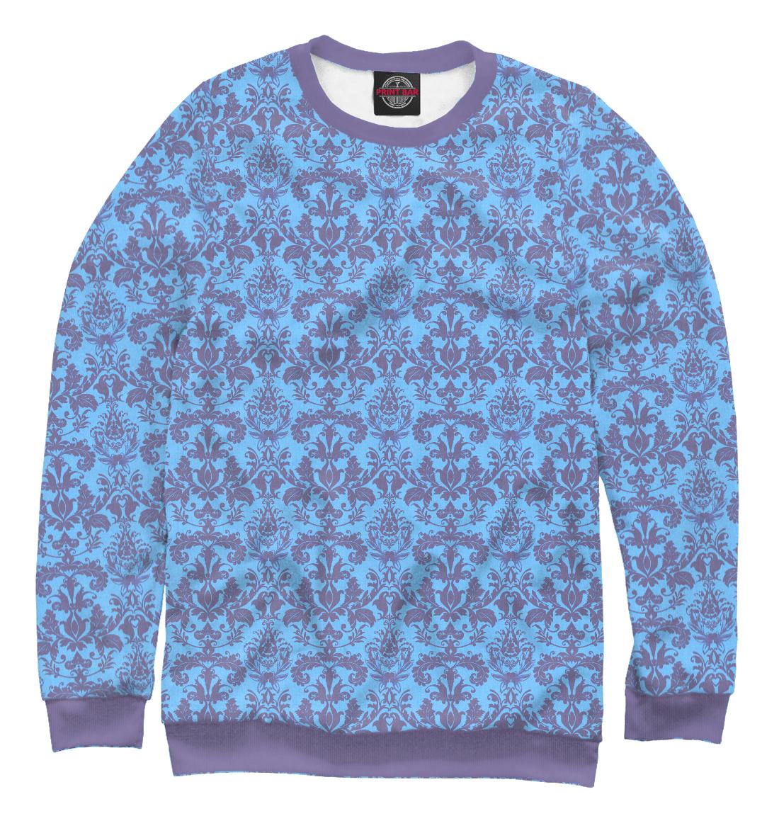 Купить Damask Blue Rasberry, Printbar, Свитшоты, ABS-362521-swi-2