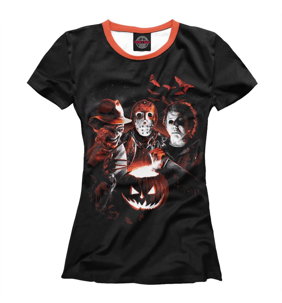 Купить Halloween Horror Team, Printbar, Футболки, HOR-516046-fut-1