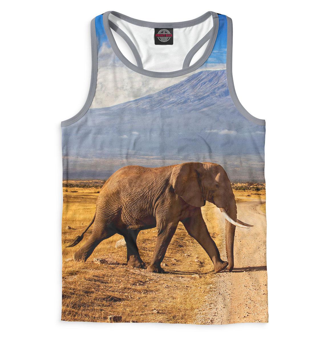 Купить Слоны, Printbar, Майки борцовки, SLO-384995-mayb-2