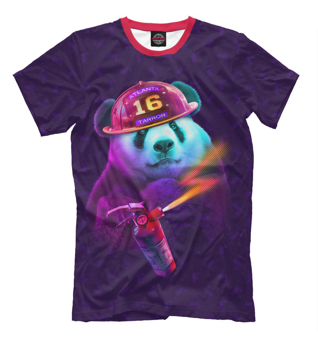 Panda Fireman