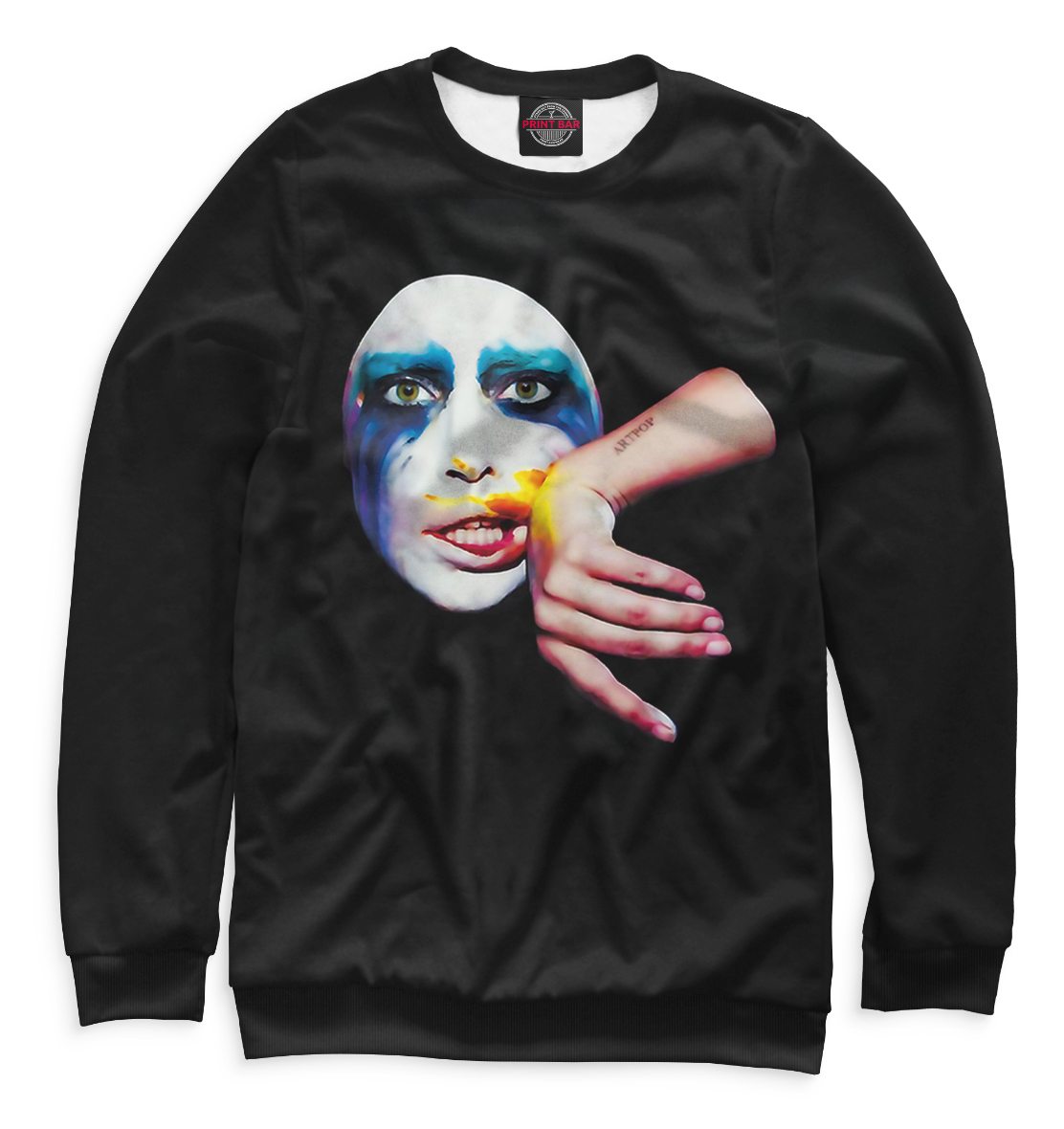 Купить Lady Gaga, Printbar, Свитшоты, LDG-825146-swi-2