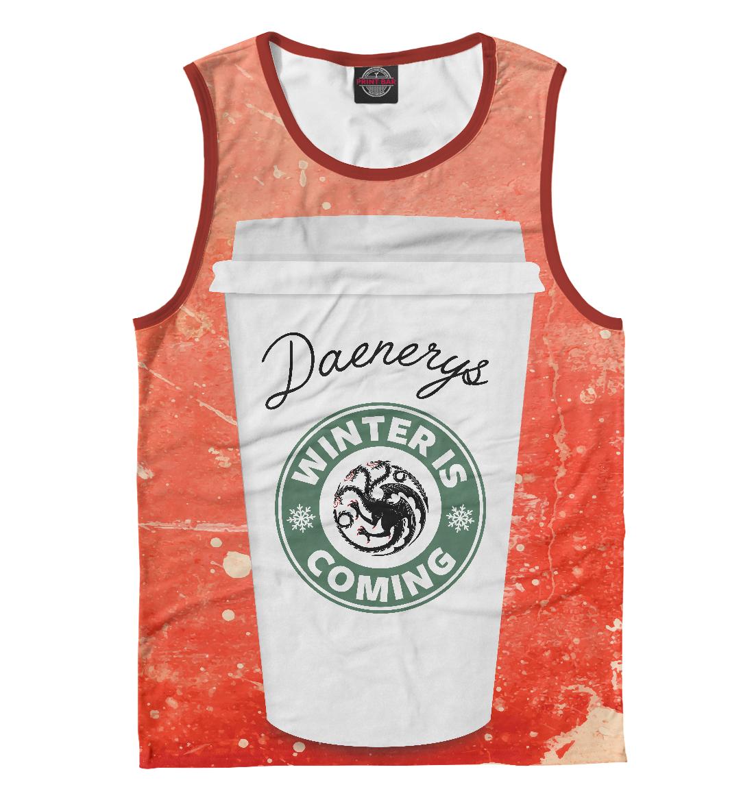Купить Кофе для Дейенерис, Printbar, Майки, IGR-756831-may-2