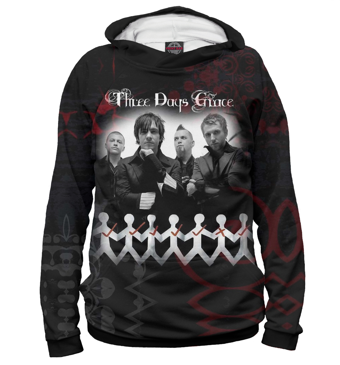 Купить Three Days Grace, Printbar, Худи, TDG-710005-hud-2