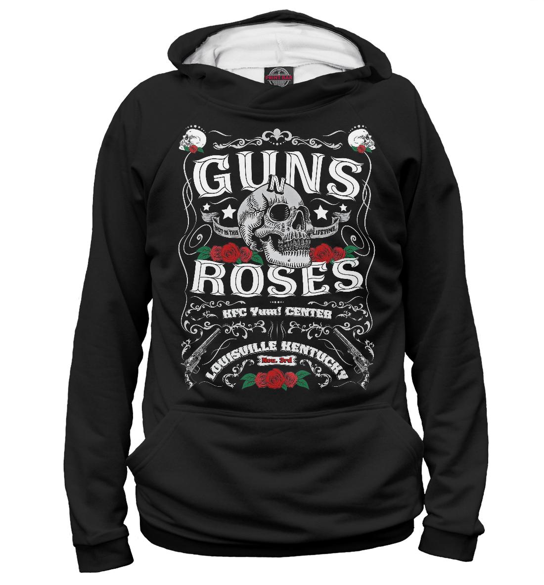 Купить Guns N` Roses, Printbar, Худи, GNR-478920-hud-1
