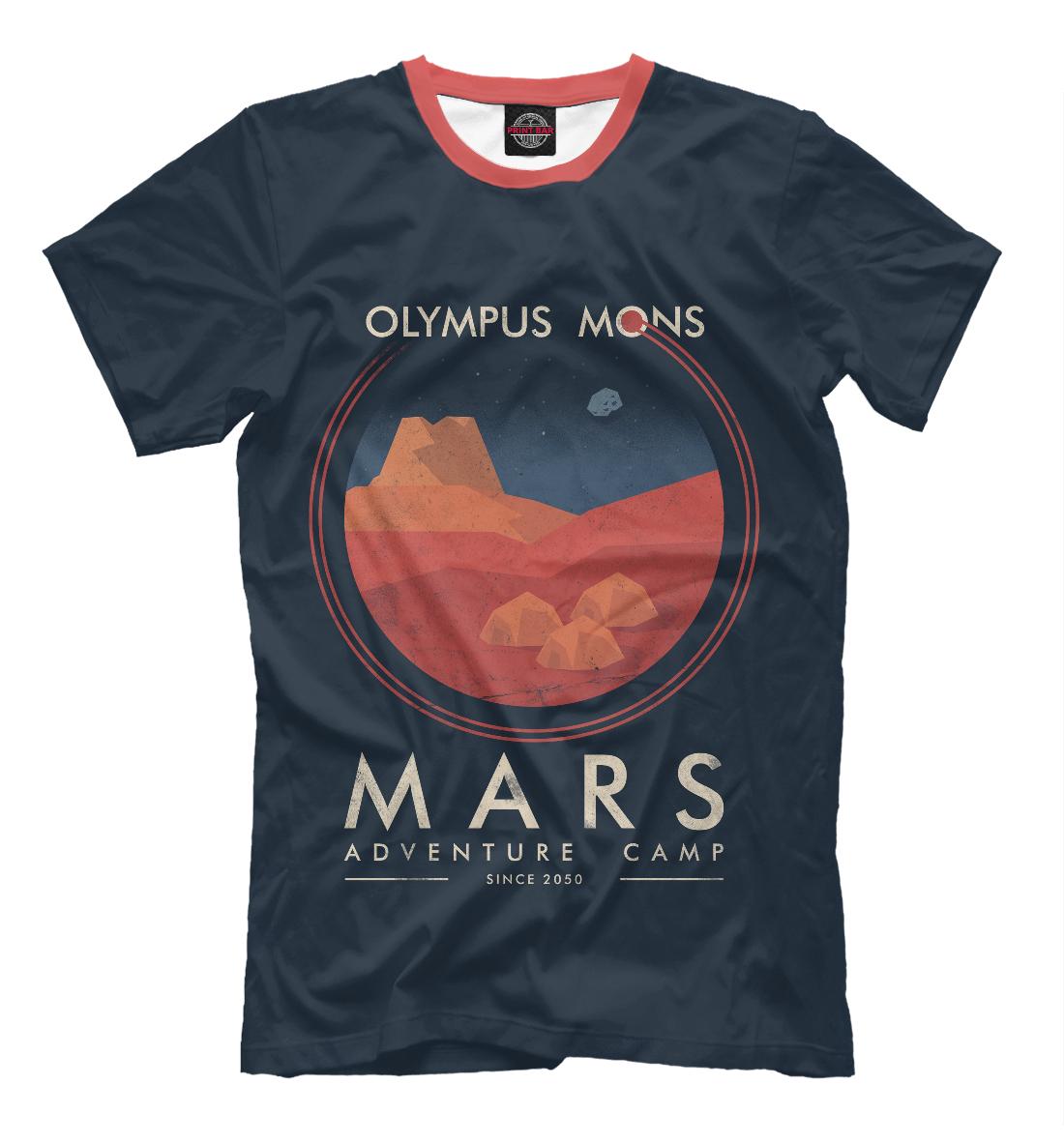 Купить Mars Adventure Camp, Printbar, Футболки, HIP-184322-fut-2