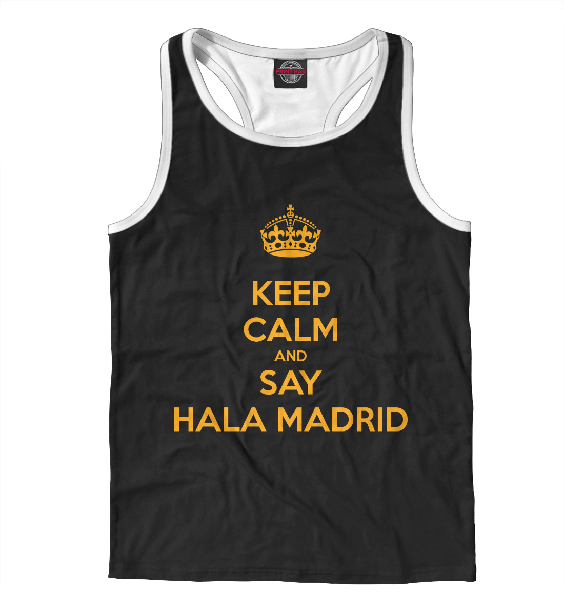 Купить Hala Madrid, Printbar, Майки борцовки, REA-745756-mayb-2