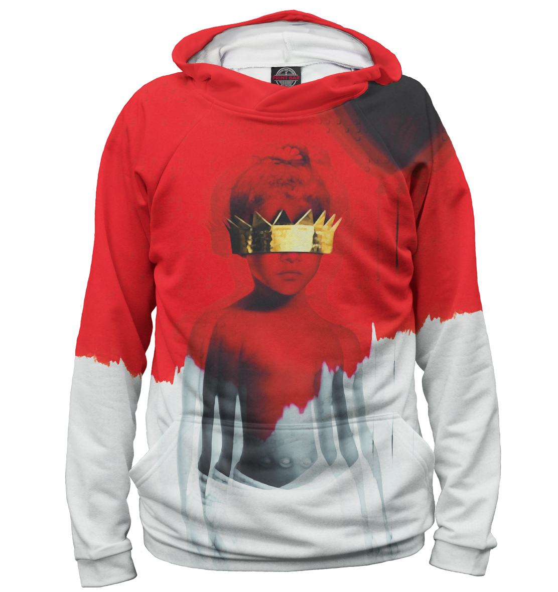 Купить Rihanna, Printbar, Худи, RHN-652943-hud-1