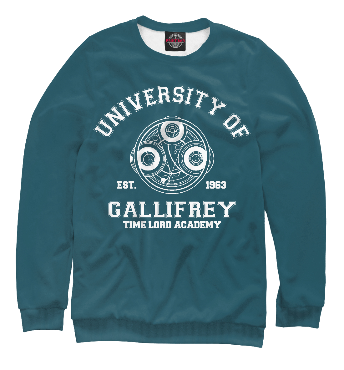 Купить Университет Галлифрея, Printbar, Свитшоты, DOK-642244-swi-1