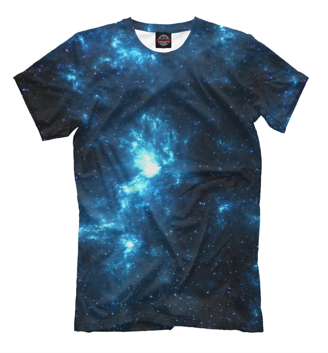 Купить Синий космос, Printbar, Футболки, HIP-150790-fut-2