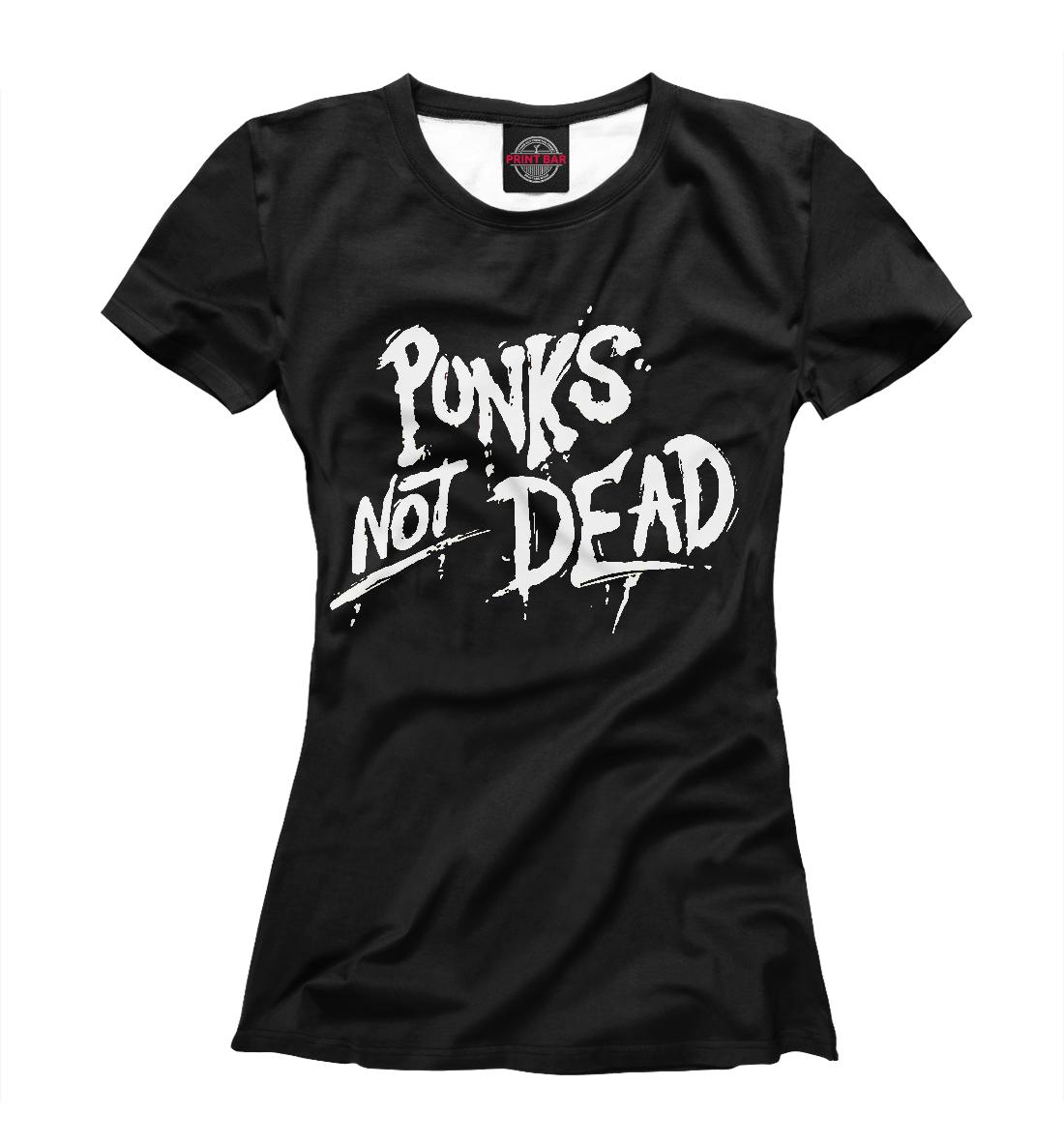 Купить The Exploited Punk's Not Dead, Printbar, Футболки, TEX-627836-fut-1