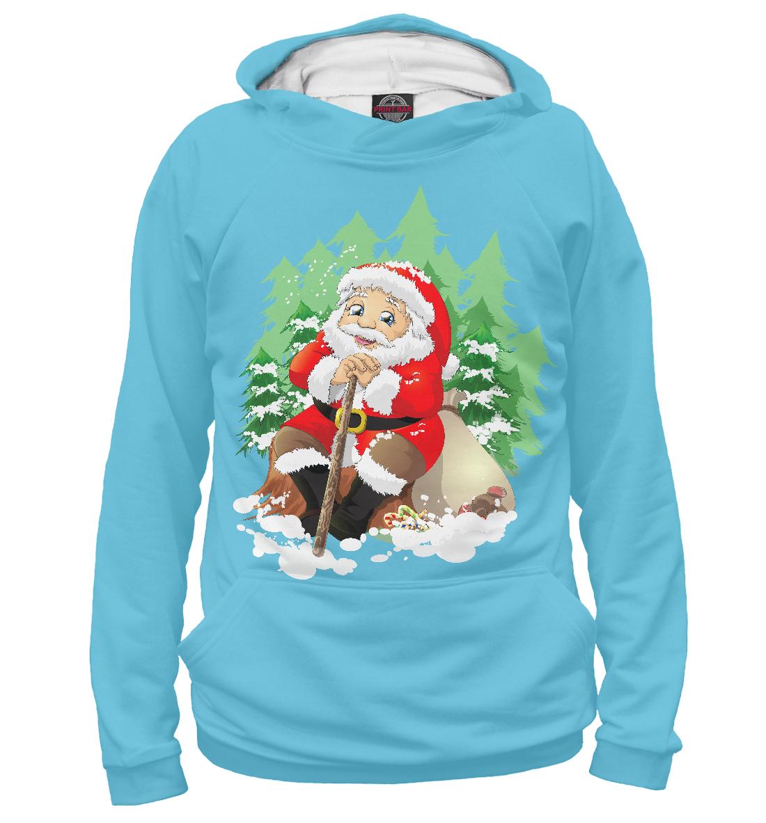 Купить Дед Мороз, Printbar, Худи, DMZ-313847-hud-1