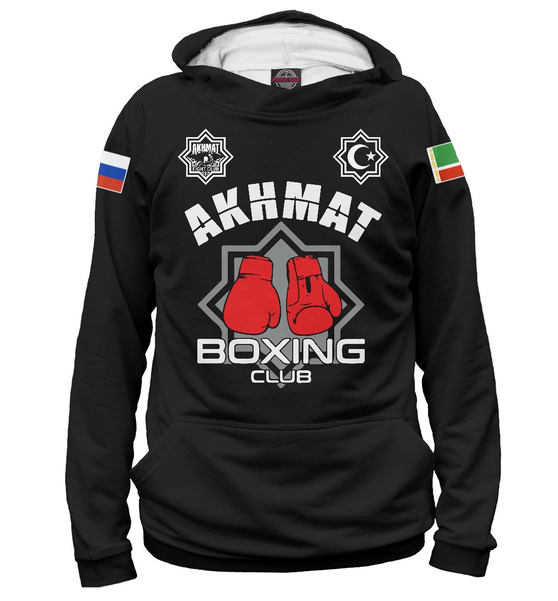 Купить Akhmat Boxing Club, Printbar, Худи, AFC-644006-hud-1