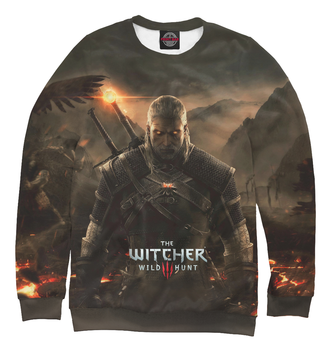 Купить The Witcher: Wild Hunt, Printbar, Свитшоты, WTR-872747-swi-1