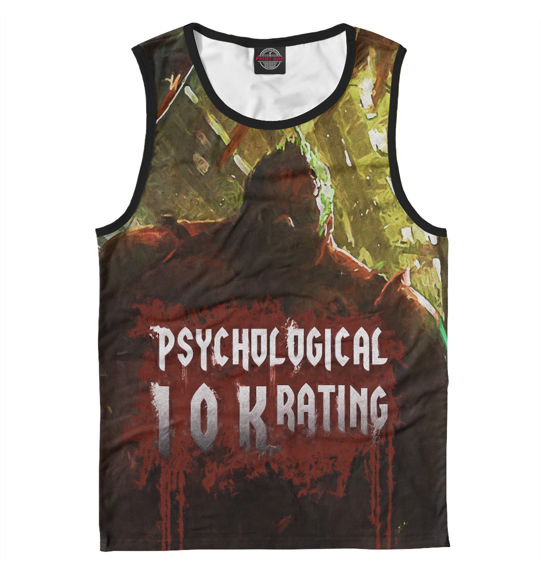 Купить Psychological 10k rating, Printbar, Майки, DO2-372754-may-2