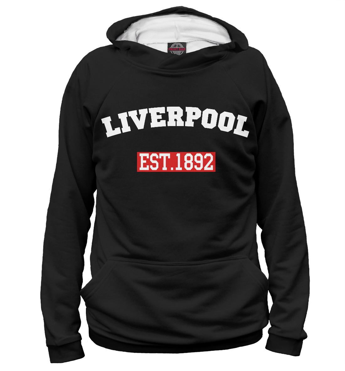 Купить FC Liverpool Est.1892, Printbar, Худи, LVP-951349-hud-1