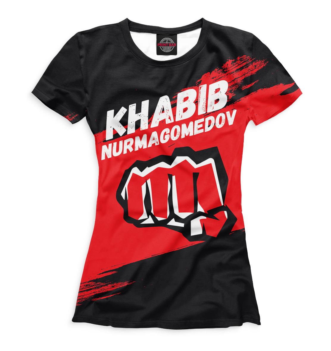 Купить Хабиб Нурмагомедов, Printbar, Футболки, MNU-925170-fut-1