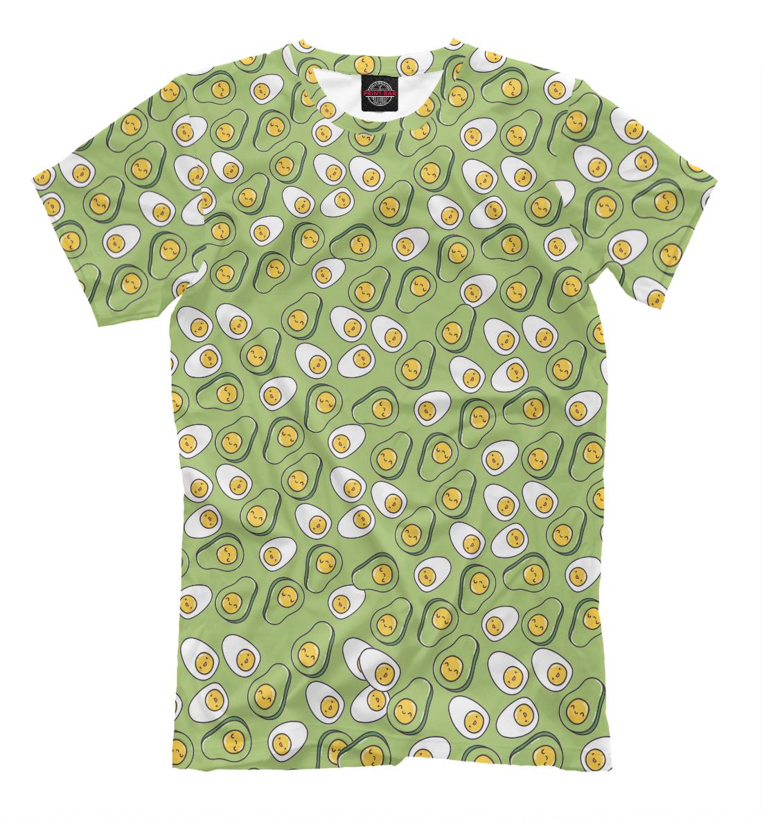 Зеленые авокадо, Printbar, Футболки, EDA-442183-fut-2  - купить со скидкой