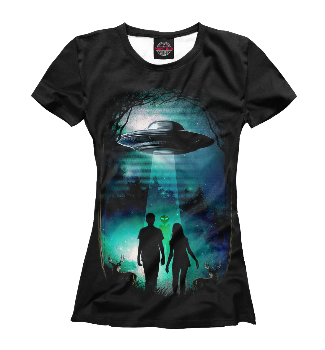 Купить Aliens, Printbar, Футболки, APD-757970-fut-1