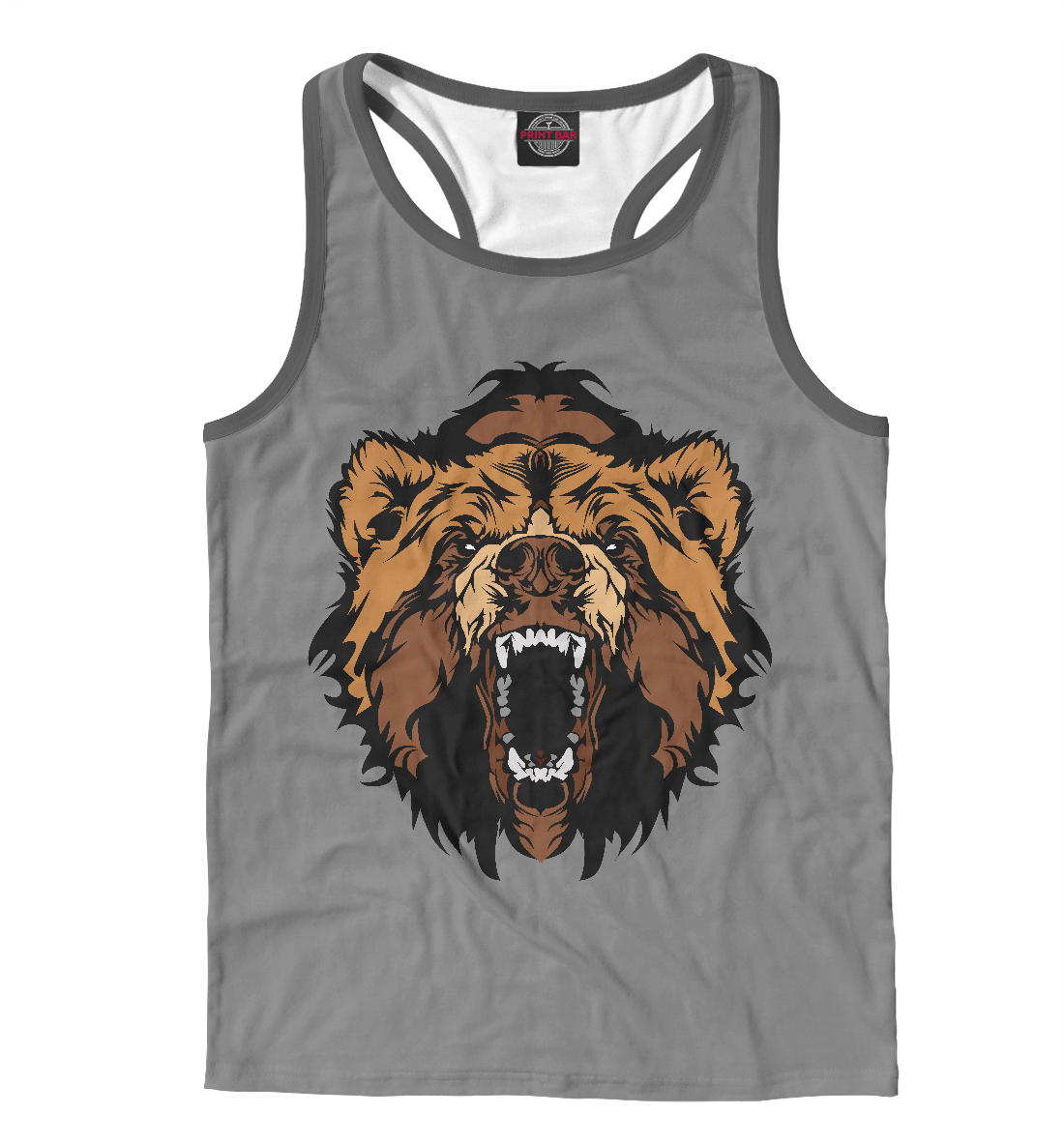 Купить Злой Медведь, Printbar, Майки борцовки, MED-793758-mayb-2