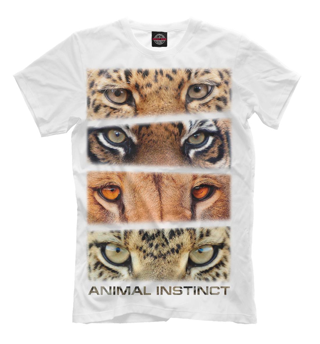 Купить Animal instinct, Printbar, Футболки, HIS-871868-fut-2