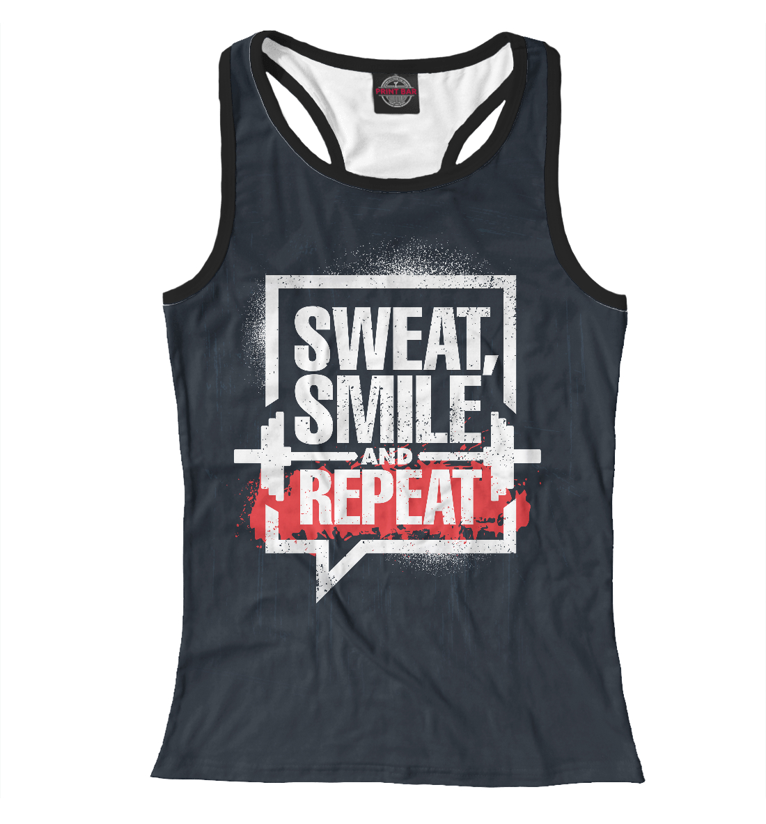 Sweat, smile and repeat.
