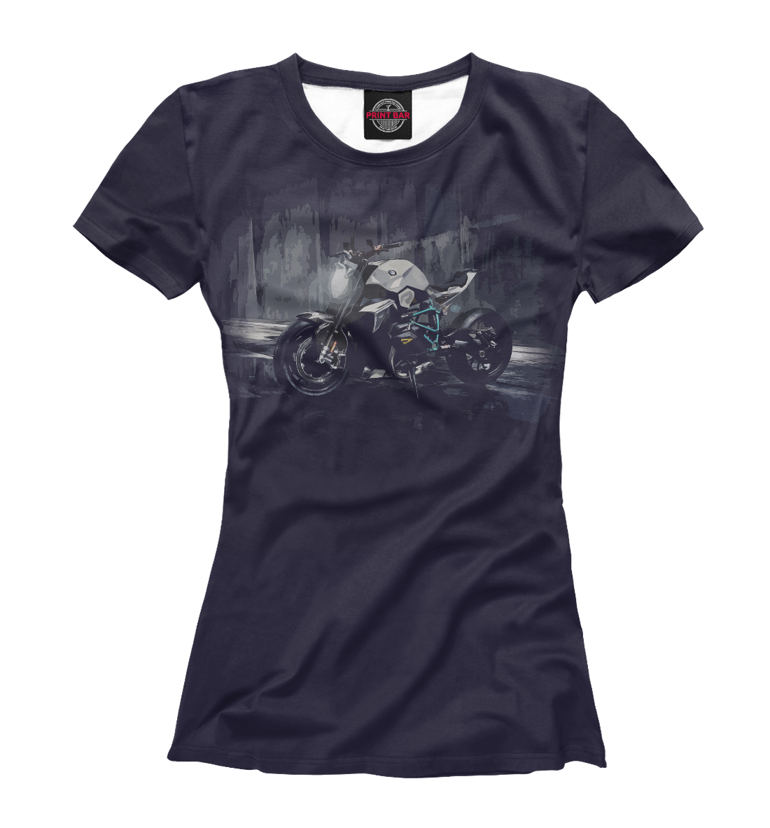 Купить Мотоцикл, Printbar, Футболки, BMW-751402-fut-1